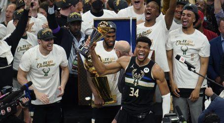 50 koševa Giannisa Antetokounmpa za četvrtu pobjedu Milwaukee Bucksa i NBA titulu