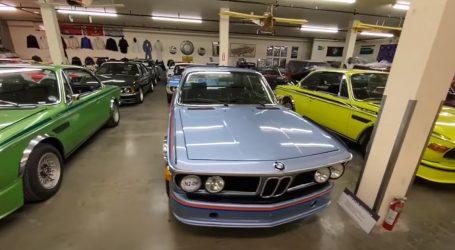 Amerikanac ponosan na veliku kolekciju BMW automobila