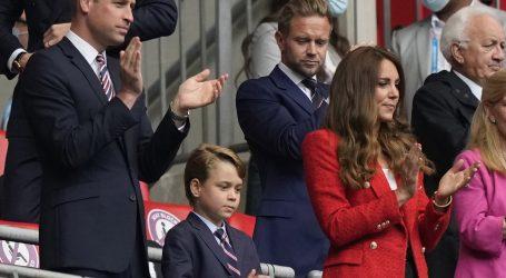 Princ William poželio je engleskoj nogometnoj reprezentaciji puno sreće u finalu europskog prvenstva protiv Italije
