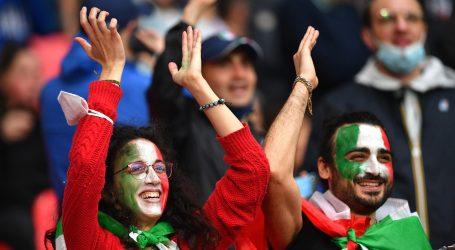 Na finale na Wembley može 1.000 navijača iz Italije