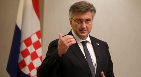 """Plenković: """"Nacija koja želi biti konkurentna i probitačna se cijepi"""""""