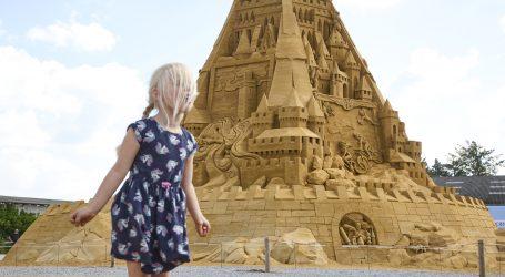 U Danskoj izgrađen najveći dvorac od pijeska na svijetu