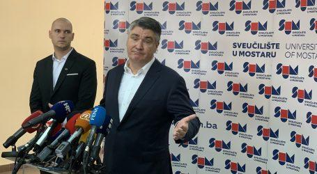 """Milanović u Mostaru: """"Pristran sam, ali korektan"""""""