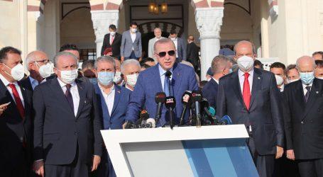 """Turski predsjednik u podijeljenoj Nikoziji: """"Mi smo u pravu i branit ćemo naša prava do kraja"""""""