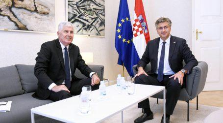 Plenković primio Čovića. razgovarali o aktualnoj situaciji u BiH