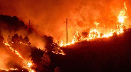 Šumski požar divlja Katalonijom, u akciju gašenja uključila se i vojska