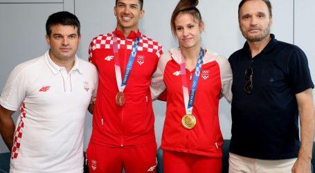 """U Hrvatsku se vratili prvi osvajači medalja: """"Hvala svima, osjetili smo vašu podršku"""""""