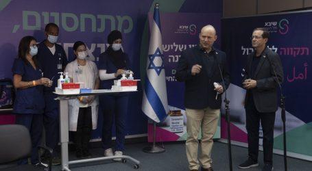 Izraelski predsjednik primio treću dozu cjepiva, poziva starije od 60 da učine isto