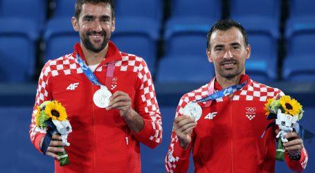"""Srebrni Čilić i Dodig: """"Ovo je povijesni dan, svi smo sretni i ponosni"""""""