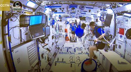 Kineski astronauti dobro podnose boravak u svemiru