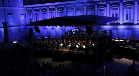 Glazbeni festival Riječkog simfonijskog orkestra na Trgu Riječke rezolucije