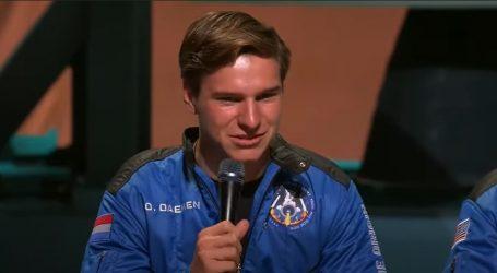 Najmlađi svemirski putnik Oliver Daemen priznao Bezosu da nikad nije ništa naručio preko Amazona