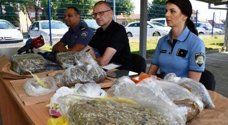 Akcija u Slavonskom Brodu: Policija od 21-godišnjaka zapljenila više od pet kilograma marihuane