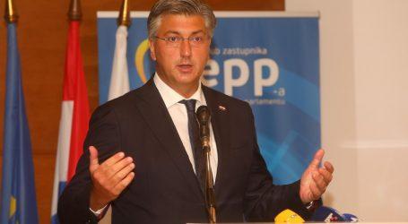 """Plenković: """"Minimum je cijepiti djelatnike u zdravstvu, socijalnoj skrbi i školstvu"""""""