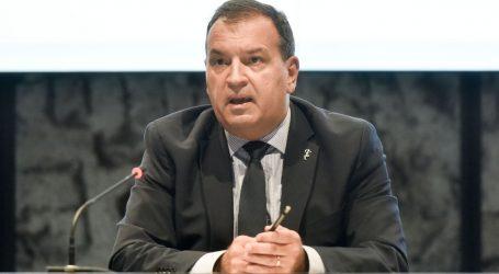 """Vili Beroš u Slavonskom Brodu: """"Petnaest osoba teško je ozlijeđeno, među njima je i jedna djevojčica"""""""