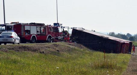 Strašna nesreća na A3: U slijetanju autobusa poginulo deset osoba, vozač je uhićen