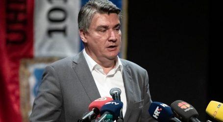 """Predsjednik Milanović izrazio sućut: """"Ozlijeđenim putnicima želim što brži oporavak"""""""