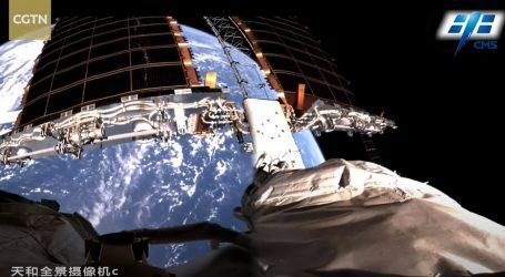 Kineska svemirska postaja snima Zemlju iz niske orbite