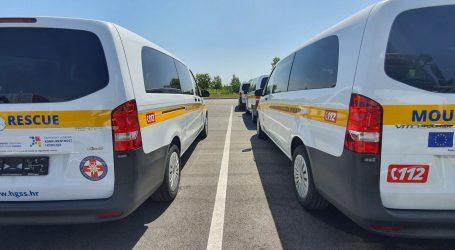 Noviteti u voznom parku: Nova vozila za jačanje kapaciteta HGSS-a u slučajevima potresa i poplava