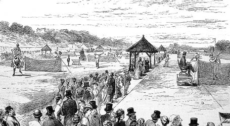 Wimbledonski turnir 1877. bio je prvi službeni teniski turnir na svijetu