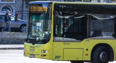 Uhićen mladić iz Splita koji se okomio na vozača autobusa