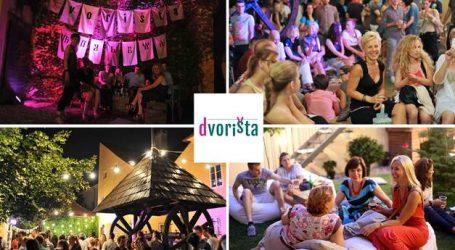 Kulturno-turistička manifestacija  Dvorišta od 16. do 25. srpnja, na tri lokacije u Zagrebu