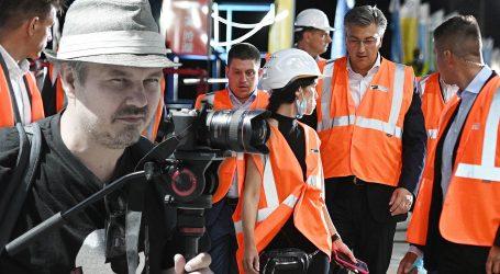 Andrej Plenković na svečanosti spajanja Pelješkog mosta nije nosio zaštitnu kacigu. Dario Juričan prijavio ga je Inspektoratu rada