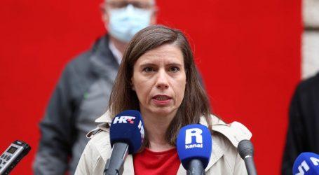 """Katarina Peović: """"Nazvala me Martina Dalić. Ne poznajem je osobno, ali sam joj rekla da je očito privatno dobra gospodarica, a kada radi za državu je loša"""""""