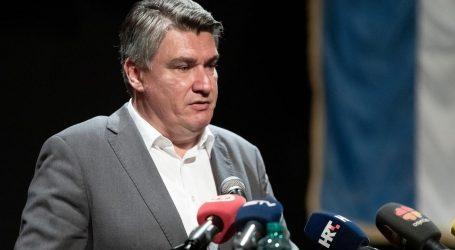 """Milanović: """"Tragedija obitelji žrtava stalno se produbljuje pokušajima negiranja ili relativiziranja strašnog pokolja u Srebrenici"""""""