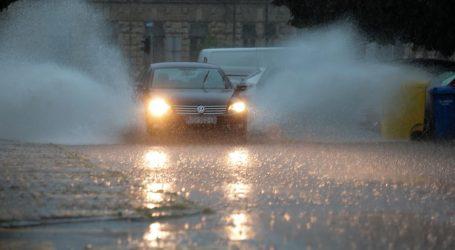 Nevrijeme u Osijeku: Tijekom nevremena palo čak 90 litara kiše po četvornome metru