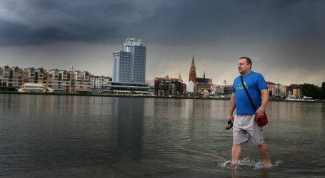 Upozorenje Civilne zaštite: Crveni alarm za osječku regiju, moguće bujične poplave i prekidi u opskrbi strujom
