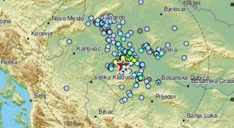 Novi umjereni potres kod Petrinje