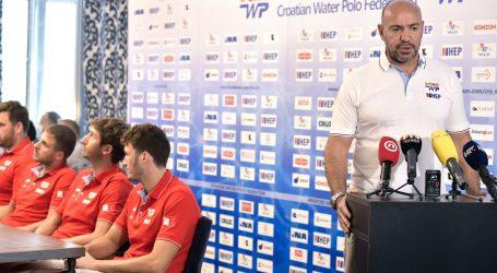 """Izbornik vaterpolske reprezentacije Ivica Tucak prije odlaska u Tokio: """"S ponosom ćemo predstavljati našu državu"""""""