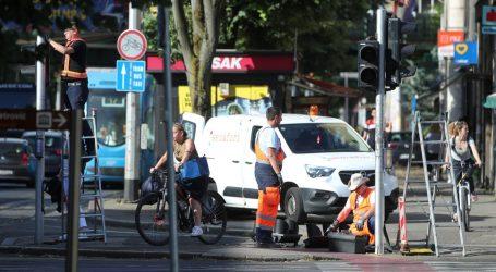 Sudar tramvaja i automobila u Zagrebu, preusmjerene linije gradskog prijevoza