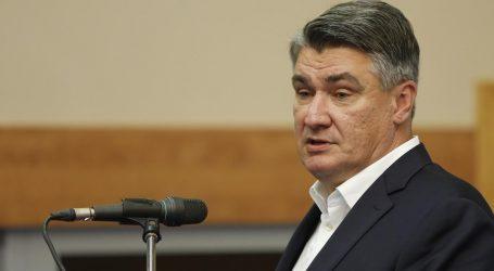 """Milanović: """"Ne vidim način da se represijom ljude natjera na cijepljenje. Argument da opterećuju zdravstveni sustav ne stoji"""""""