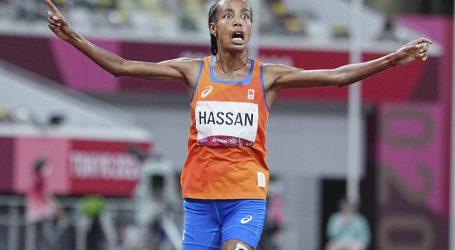 Hassan osvojila prvo od tri željena zlata, na 3000 zapreke prekinuta duga kenijska dominacija