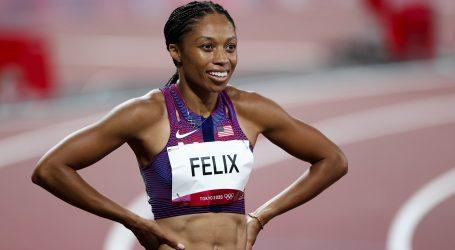 Allyson Felix zlatom u štafeti 4×400 postala najuspješnija atletska olimpijka u povijesti