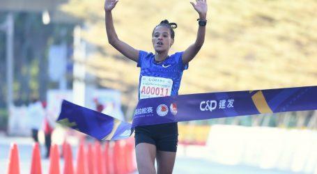 Etiopljanka Yehualaw postala prva žena koja je istrčala polumaraton ispod 64 minute