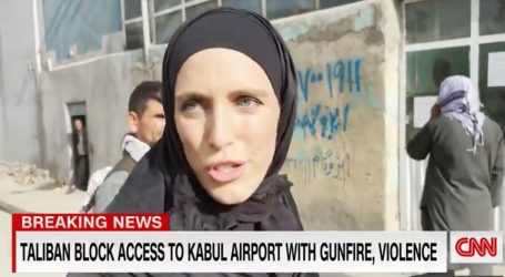 Naoružani talibani okružili CNN-ovu ekipu, novinarki naredili da pokrije lice
