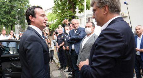 Kosovski premijer u pismu Plenkoviću zahvalio Hrvatskoj na pomoći nakon nesreće