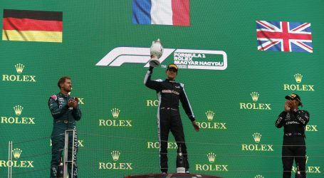 F1 – Oconu prva pobjeda u karijeri, kaos na startu