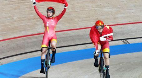Kineskinjama zlato i svjetski rekord u ekipnom sprintu