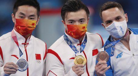 Gimnastička zlata za Kinu, Južnu Koreju i SAD
