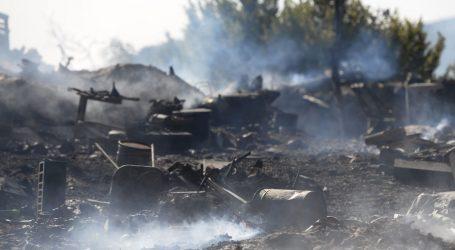 Više nema otvorenog plamena na požarištu kod Segeta Gornjeg, objavljena snimka borbe vatrogasaca s požarom