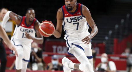 Amerikanci protiv Australije gubili 15 razlike pa na Durantov pogon odjurili na +19 i prošli u finale