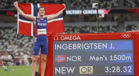 Ingebrigtsen prvi na 1.500 s europskim rekordom, Sifan Hassan na 10.000 uzela drugo zlato