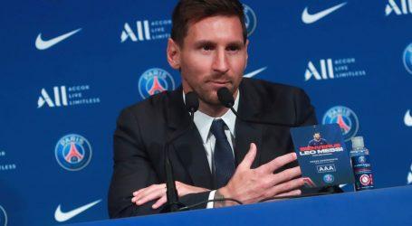 """U Parizu predstavljen Leo Messi: """"Moj je san osvojiti još jednu Ligu prvaka, ovo je idealno mjesto za to"""""""