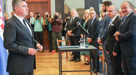 Milanović sa sudionicima godišnje Konferencije veleposlanika, generalnih konzula, konzula i vojnih izaslanika Hrvatske