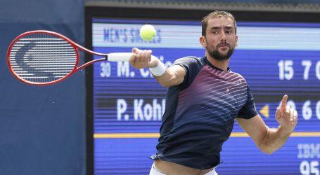 Marin Čilić predao meč prvog kola US Opena
