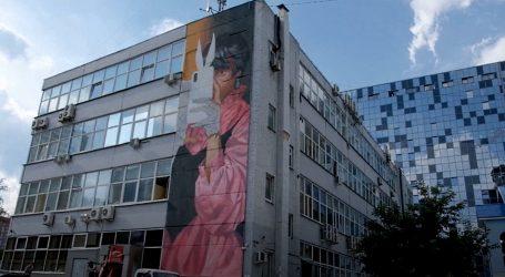 Ulični umjetnici ogromnim muralima oslikali zgrade u Jekaterinburgu